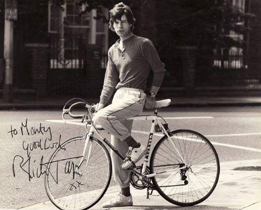 It's only Rock'n'Roll, but I bike it, bike it, yes, I do