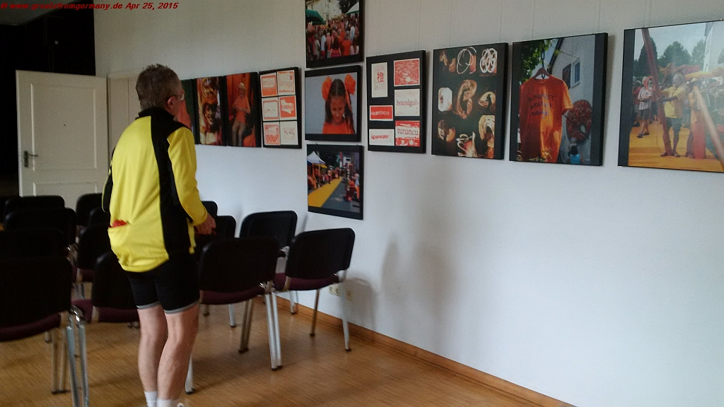 Vibrating orange was the theme of 2014's Netzbach Fest of Colors