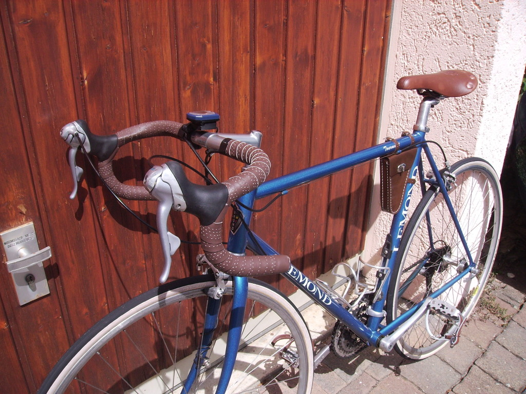 Back to the future: 1997 steel bike resurrected by some quick and easy retrofitting