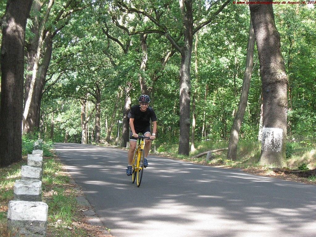 If you plan to ride your single speed through Berlin, better think twice (or beware of Grunewald hills)