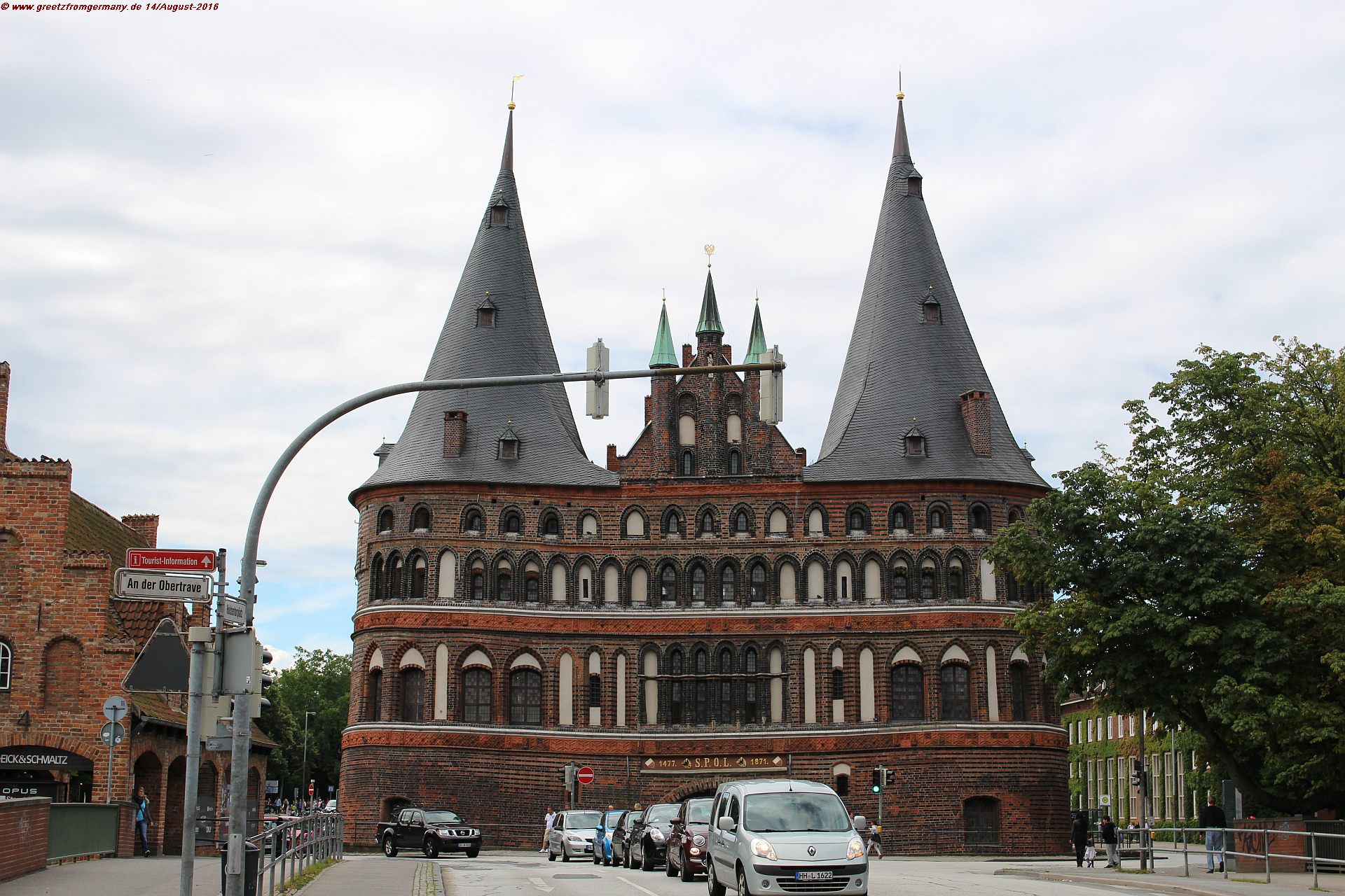 20160814_Holstentor Lübeck