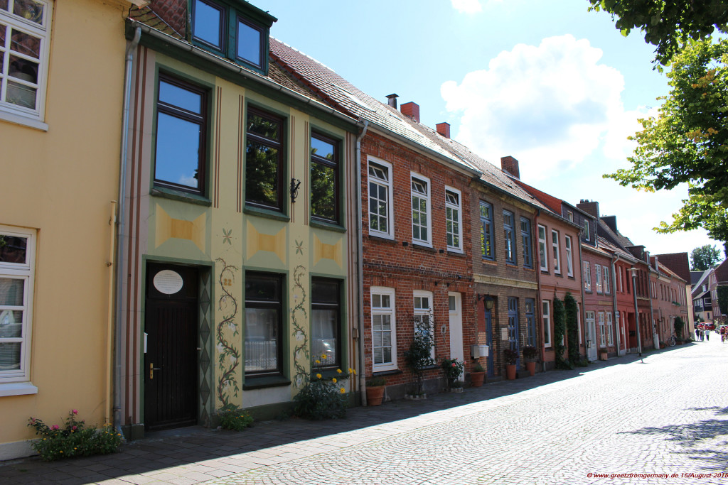 Historic part of the town of Plön