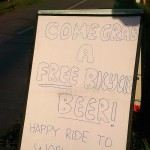 Free Bicycle Beer